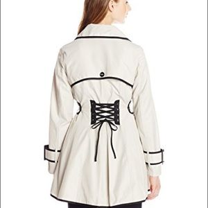 Betsey Johnson Corset Trench